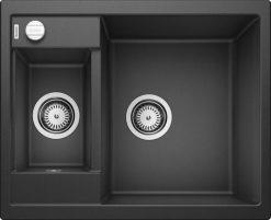 Blanco Metra 6 svart sort oppvaskkum kjøkkenvask, vendbar høyre/venstre - 516165 - 1822092