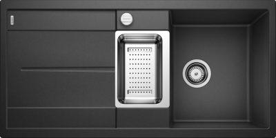 Blanco Metra 6 S antrasitt sort farge oppvaskkum kjøkkenvask 513053-1824089