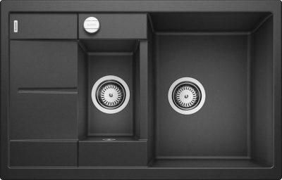 Blanco Metra 6 S Compact antrasitt sort farge oppvaskkum kjøkkenvask 513473 - 1825864