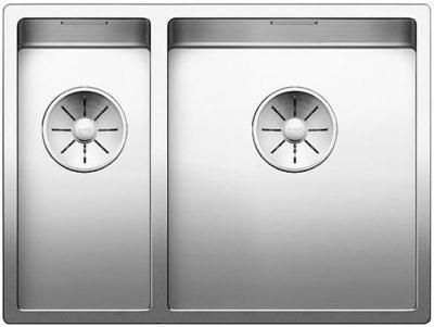 Blanco Claron 340/180-U rustfritt stål underlimt kjøkkenvask-steelart-toppmodell-1828308-521610