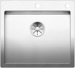 Blanco Claron 500 IF/A rustfritt stål nedfelt kjøkkenvask-steelart-toppmodell-521633-1826816