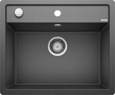 lanco Dalago 6 kjøkkenvask oppvaskkum i antrasitt sort/svart 514197 - 1827271