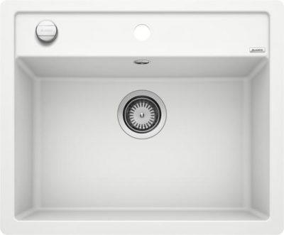 Blanco Dalago 6-F hvit planlimt kjøkkenvask for 60cm skap 514771 - 1827417