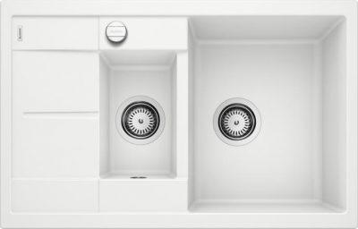 Blanco Metra 6 Compact hvit oppvaskkum kjøkkenvask, vendbar høyre/venstre - 513468 - 1825819