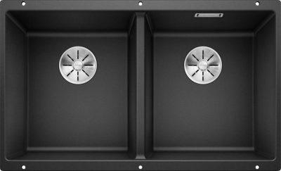 Blanco Subline 350/350-U underlimt dobbel kjøkkenvask 523574 1822399
