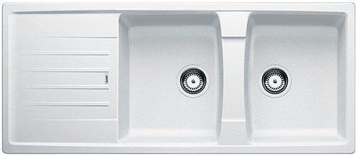 BLANCO BLANCOLEXA 8S Kjøkkenvask i Silgranit Hvit - vendbar