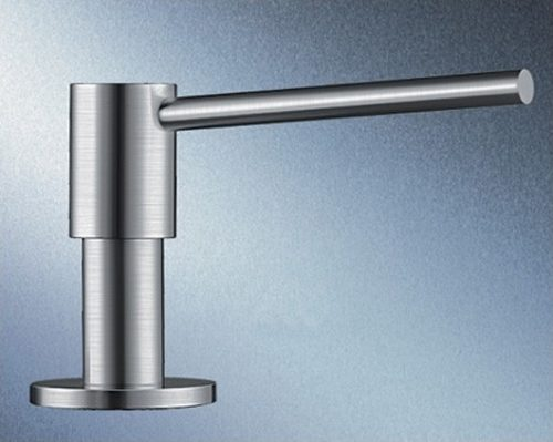 BLANCOPIONA Såpedispenser i børstet stål - med solid metall innmat