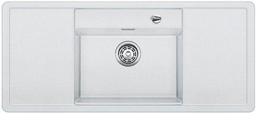 BLANCO BLANCOALAROS 6 S - kjøkkenvask i Silgranit Hvit