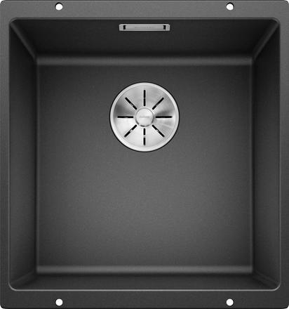 Blanco Blanco Subline 400-U svart / sort / antrasitt oppvaskkum kjøkkenvask for underliming 1825376 - 523422