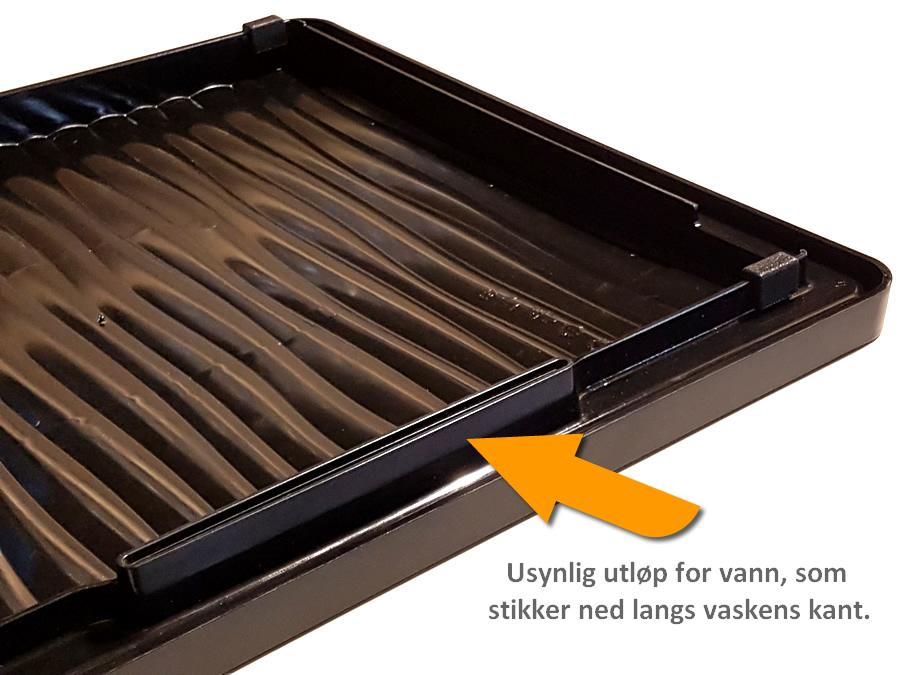 BLANCO Designer avrenningsbrett, for alle typer kjøkkenvask
