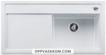 BLANCO BLANCOZENAR XL 6 S - kjøkkenvask i Silgranit Hvit - kum høyre