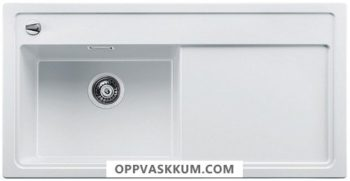 BLANCO BLANCOZENAR XL 6 S - kjøkkenvask i Silgranit Hvit - kum venstre