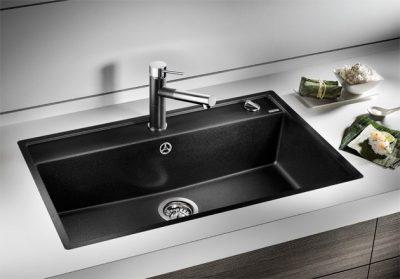 BLANCO BLANCODALAGO 8 - Kjøkkenvask i Silgranit Antrasitt