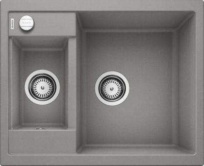 Blanco Metra 6 alumetallic grå farge oppvaskkum kjøkkenvask, vendbar høyre/venstre - 516156 - 1822009
