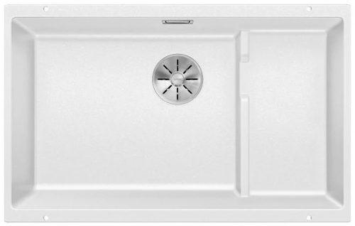 Blanco Subline 700-U level Hvit, Ny Infino design silkurv og trådkurv i rustfritt stål 523446-1822238