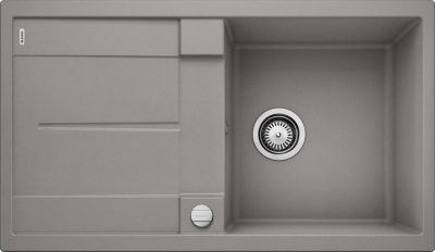 Blanco Metra 5 S oppvaskkum i alumetallic grå farge - 513036-1824256
