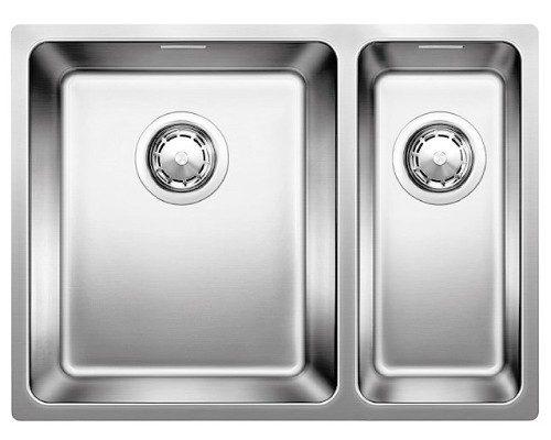 BLANCOANDANO 340/180-IF - Stor kum venstre - kjøkkenvask i stål