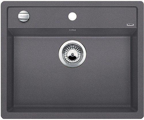 BLANCO BLANCODALAGO 6 - Kjøkkenvask i Silgranit Lavagrå