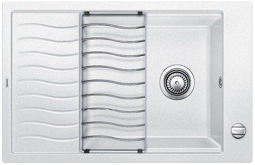 BLANCO BLANCOELON XL 6S - Kjøkkenvask i Silgranit Hvit