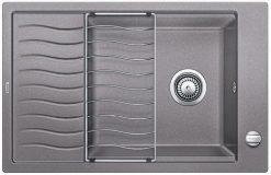 BLANCO BLANCOELON XL 6S - Kjøkkenvask i Silgranit Alumetallic