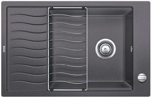 BLANCO BLANCOELON XL 6S - Kjøkkenvask i Silgranit Lavagrå