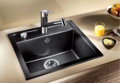 BLANCO BLANCODALAGO 5 - Kjøkkenvask i Silgranit Antrasitt