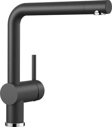 Blanco Linus kjøkkenkran i antrasitt sort farge - dreibar tut- 516698-1854406