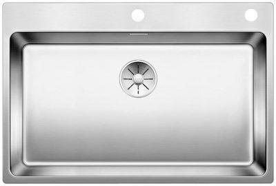 Blanco Andano 700 IF/A rustfritt stål oppvaskkum kjøkkenvask med bakplate