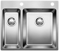 BLANCOANDANO 340/180 IF-A - Kjøkkenvask i stål