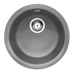 BLANCO RONDO - Rund kjøkkenvask i Alumetallic grå - Silgranitt