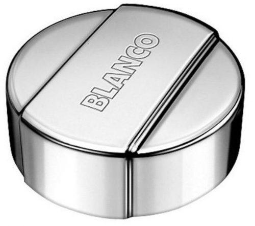 BLANCO OPPLØFT - Rund hendel i matt krom farge - med metall innmat