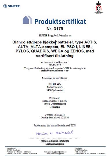SINTEF-Blanco-Actis-Alta-Elipso-Linee-Pylos-Quadris-Wega-Zenos