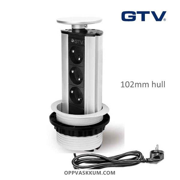gtv-el-soyle-solv-silver-100mm-hull