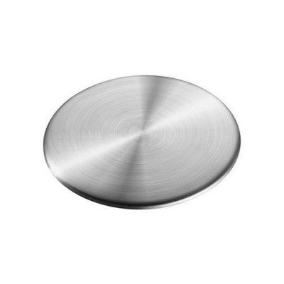 Sprut og pyntedeksel i børstet stål - Universal