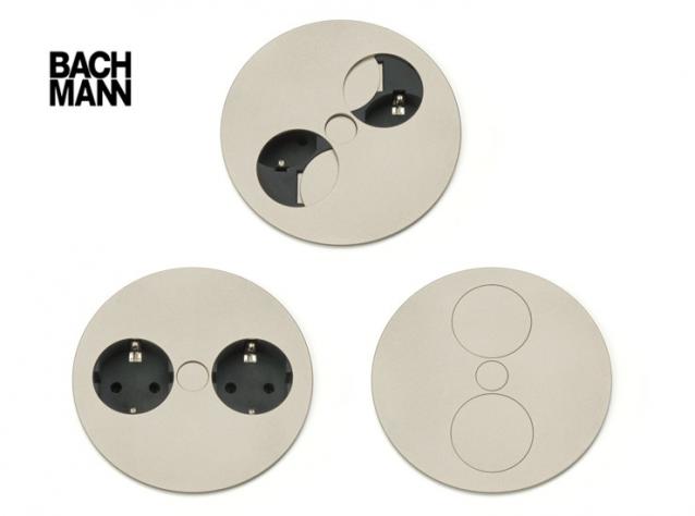 BACHMANN Twist design elektrisk punkt for kjøkken og kontor