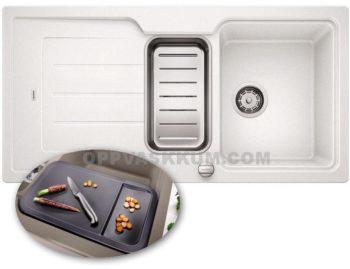 BLANCO Classic NEO kjøkkenvask i hvit farge - komplett med tilbehør