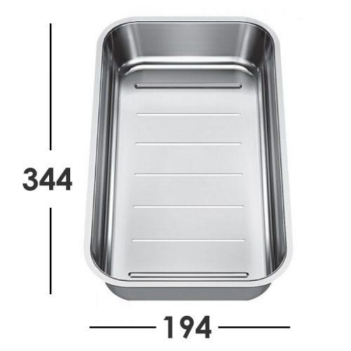 BLANCO Classic NEO kjøkkenvask i antrasitt - komplett pakke med tilbehør