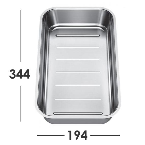 blanco classic neo 6s hvit pakke med skj refjel og skyllesk l i st l oppvaskkum no. Black Bedroom Furniture Sets. Home Design Ideas