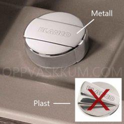 Gratis oppløft hendel i metall for BLANCO Silgranitt oppvaskkum kjøkkenvask