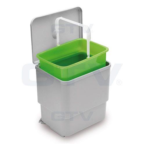 Automatisk avfallsbøtte søppelbøtte for skap