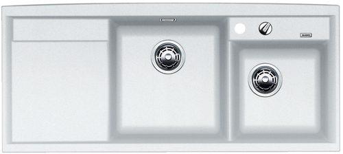 BLANCO Axia 8 S Hvit oppvaskkum for toppmontering nedfelling