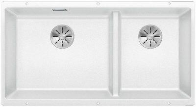 Blanco Subline 480/320-U hvit oppvaskkum kjøkkenvask for underliming -523588-1813984