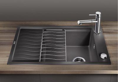 BLANCO Elon XL 8 S Silgranitt Antrasitt farge oppvaskkum kjøkkenvask