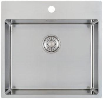 CARESSI håndlaget stål oppvaskkum for 60cm skap