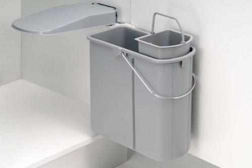 Wesco Classic Automatisk avfallsbøtte 19 liter med bio boy 5 liter 1633100