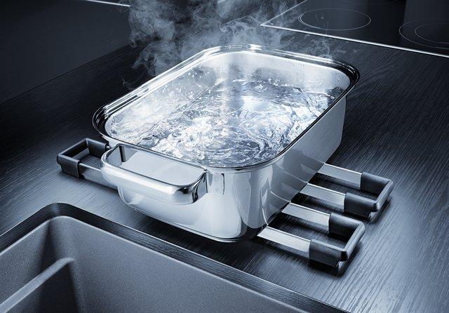 Blanco Etagon 500-U oppvaskkum i antrasitt, for underliming