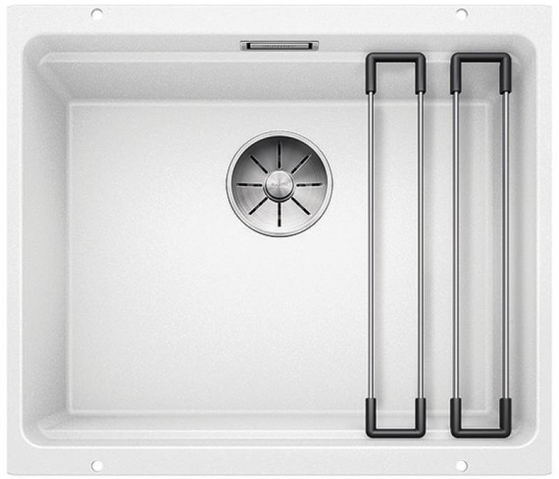 Blanco Etagon 500-U silgranit hvit oppvaskkum, for underliming