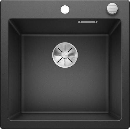 Blanco Pleon 6 oppvaskkum i antrasitt farge 523676 - 1823600