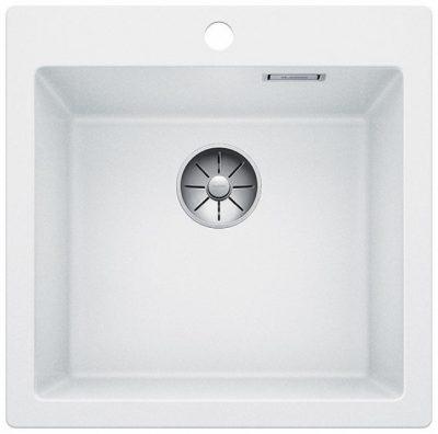 Blanco Pleon Hvit elegant & stor oppvaskkum for 50cm skap