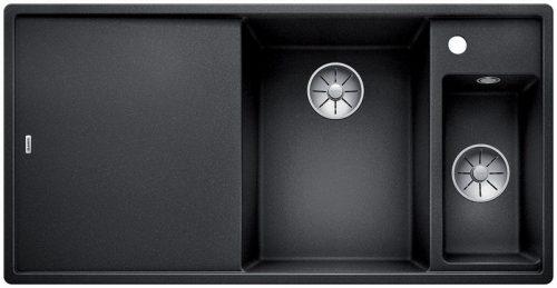 Blanco Axia III 6 S kjøkkenvask i antrasitt sort farge